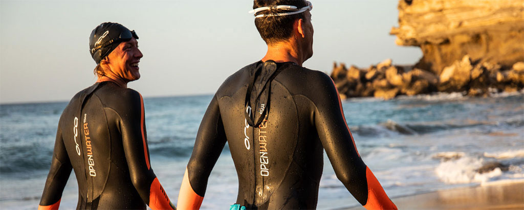 Mens Wetsuits Fun Swimming In Orca Wetsuits