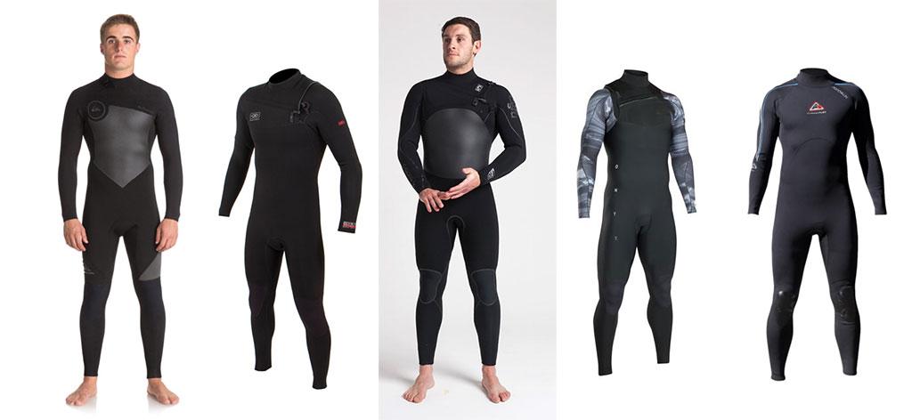 Mens Wetsuits Full Range Quiksilver Ocean & Earth C-Skins ION Adrenalin