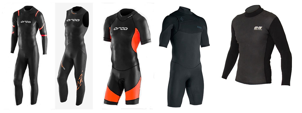 Mens Wetsuits Full Range Swimming Triathlon Springsuits Vests