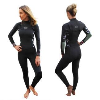 Reeflex Flora Zipperless Ladies Steamer 3-2mm Womens Wetsuit