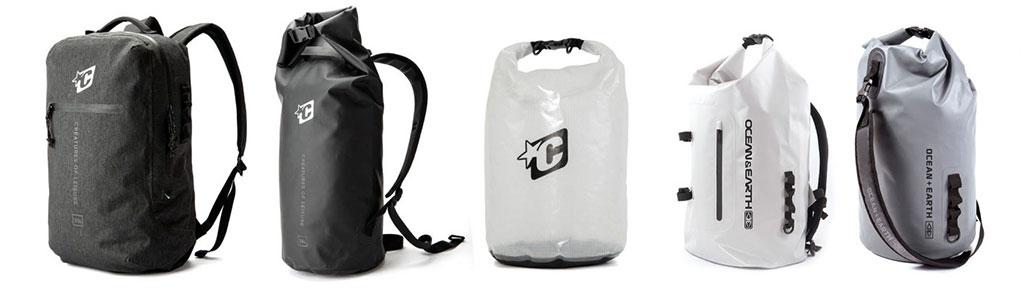 Wetsuit Accessories Creatures-Of-Leisure-Transfer-Dry-Wetsuit-Bag-Day-Use-Dry-Wetsuit-Bag-Clear-Wetsuit-Bag-Ocean&Earth-Deluxe-Wetsuit-Backpack-Mens-Wetsuit-Bag
