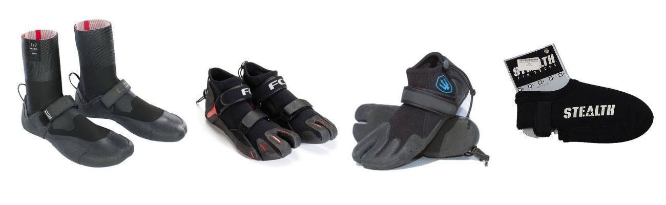 Wetsuit Accessories ION-Winter-Booties-FCS-Reef-Booties-Far-King-Reef-Booties-Stealth-Bodyboard-Booties