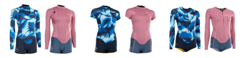 Womens Wetsuits ION Style Options
