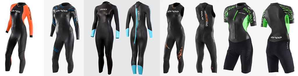 Womens Wetsuits Orca Zone3 Swimming Wetsuits