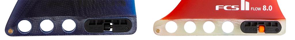 Longboard Fins FCS II System