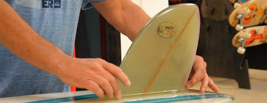 Longboard Fins Traditional Glassed On Fins