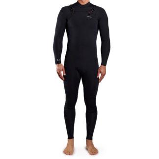 Adelio Turner Mens Chest Zip Wetsuit Steamer 3-2mm LS