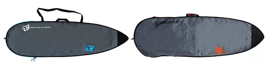 Surfboard Bags Creatures of Leisure Performance Board Bag vs Fish Board Bag