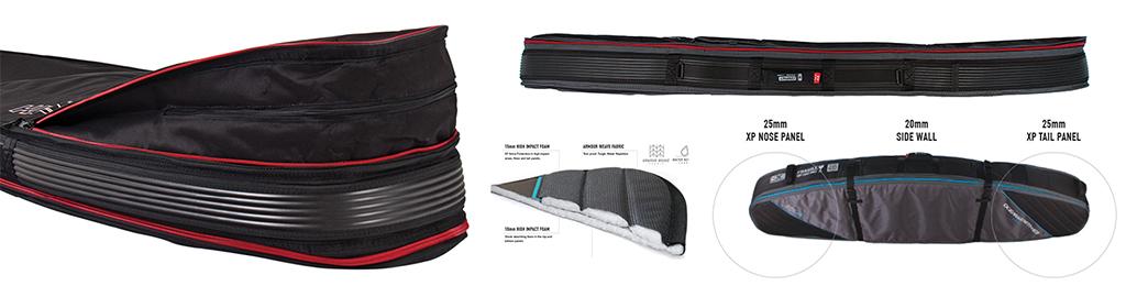 Surfboard Bags Ocean & Earth Double Compact Shortboard Board Cover