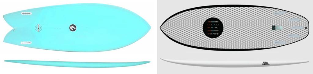 Surfboards-ECS-Fish-vs-Superbrand-Fling