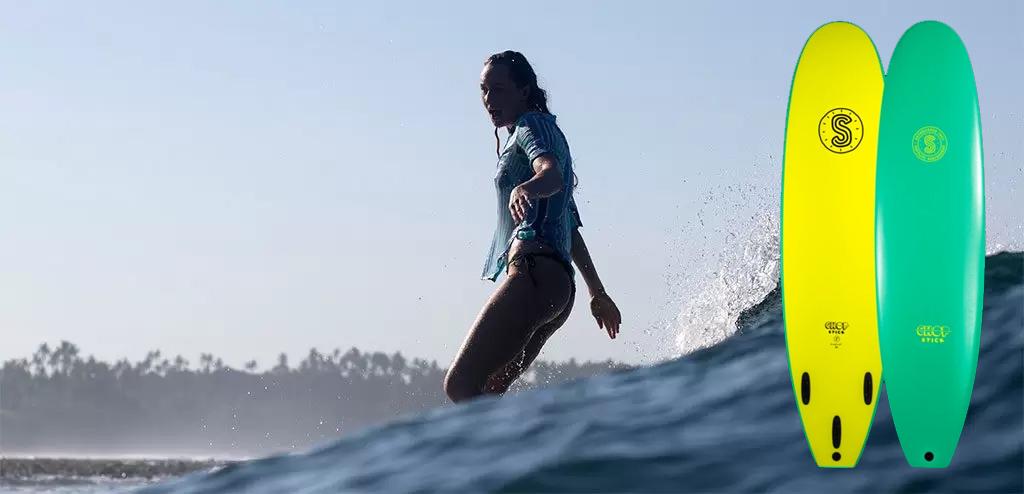 Surfboards-Softlite-Chop-Stick-Cruising