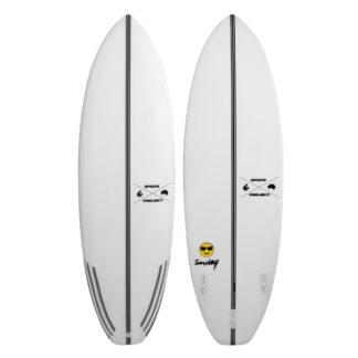 ECS Smiley Surfboard